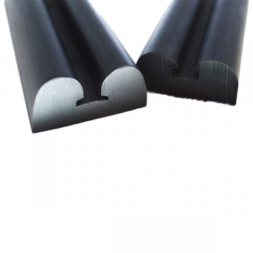Double D Shape  Nitrile Rubber Profiles Extrusion