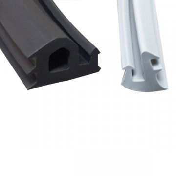 White EPDM Extruded Rubber Extrusion
