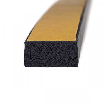Self Adhesive EPDM Foam Rubber Strip