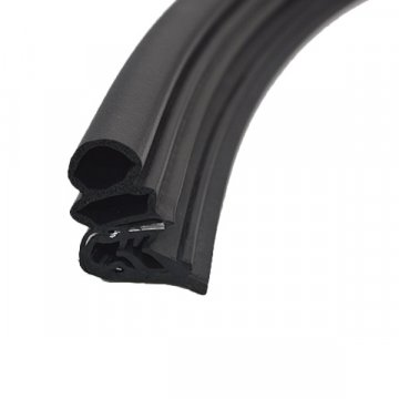 EPDM Rubber Seal With Metal Insert For Car Door