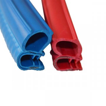 Blue EPDM Extruded Rubber Extrusion