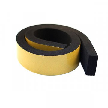 Neoprene Sponge Rubber Self Adhesive Strip