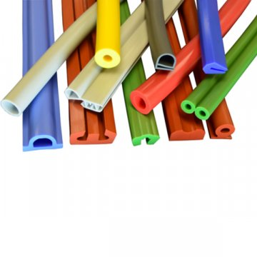 Colorful EPDM Extruded Rubber Extrusion