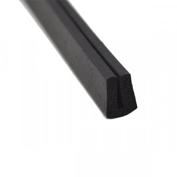 Sponge EPDM rubber strip for shower glass door