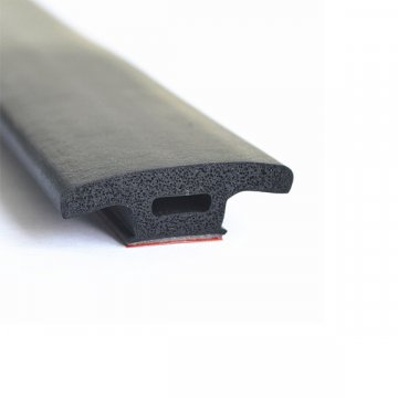 Sponge EPDM TPE CR Rubber Seal Strip For Aluminum Glass Door And Windows