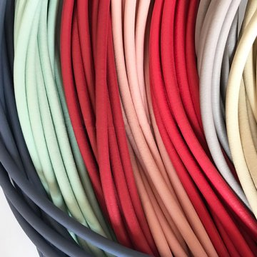 Colored Sponge Rubber Cord
