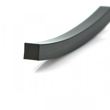 Epdm Soild Rubber Square Cord Strip Profiles For Engineering