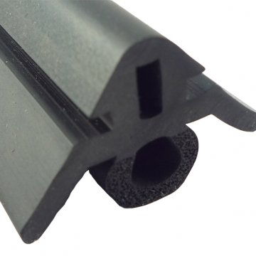 Dual Durometer Rubber Extrusion Profiles Weatherstrip