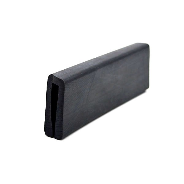 U Section Extruded EPDM Rubber Edge Protector (2)