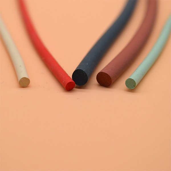 Colored Sponge Rubber Cord  (4)