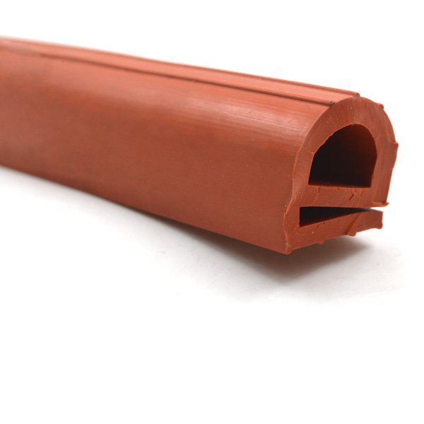 Red EPDM Extruded Rubber Extrusion (3)