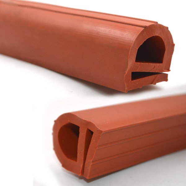 Red EPDM Extruded Rubber Extrusion (2)