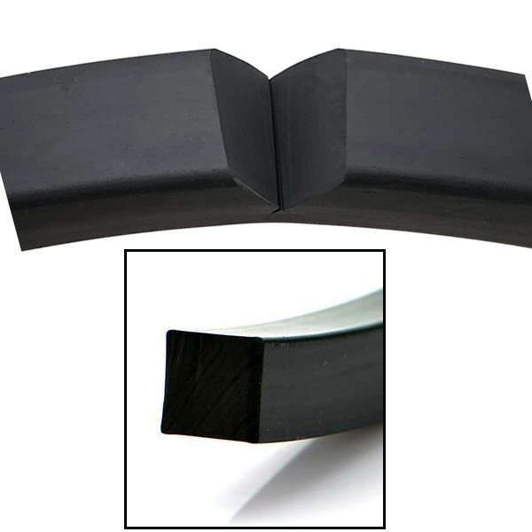 Epdm Soild Rubber Square Cord Strip Profiles For Engineering (2)