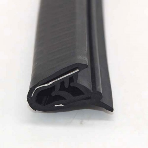 EPDM Rubber Weatherstrip Metal Insert Strip