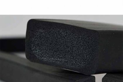 EPDM rubber profile feature: Low density and high filling