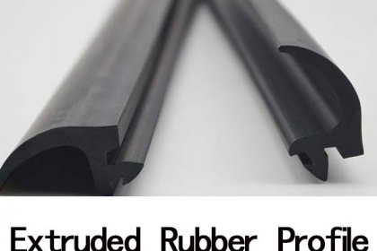 What is extruded rubber profile used for?